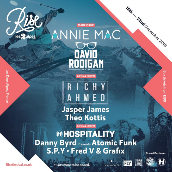 The first names are in for Rise Festival 2018